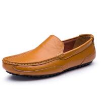 男士帆布鞋夏季豆豆鞋男潮鞋一脚蹬懒人鞋板鞋百搭男鞋驾车鞋单鞋