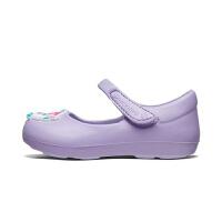 斯凯奇(Skechers)女童鞋 魔术贴休闲凉鞋 柔软舒适玛丽珍鞋86973N