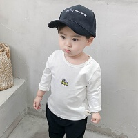 宝宝长袖T恤2018秋季新款小童衣服男1-3岁婴儿打底衫儿童上衣潮装