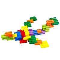 贝旺子弹头积木塑料拼插积木益智玩具儿童智力玩具宝宝积木