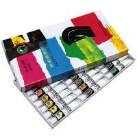 马利824丙烯颜料12ML DIY美术手绘衣服墙体丙烯画颜料 824丙烯24色套装