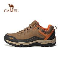 camel骆驼户外徒步鞋 男款防滑耐磨减震登山徒步鞋