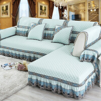 欧式沙发垫坐垫套装四季沙发罩套子防滑可定制