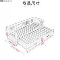沙发床可折叠沙发多功能沙发书房坐卧两用沙发床双人沙发带储物 1.8米-2米