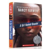【中商原版】学乐 灾难女孩 英文原版 A Girl Named Disaster 1997年纽伯瑞银奖