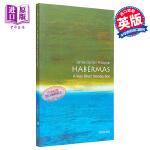 【中商原版】哈贝马斯 英文原版 人物传记 牛津通识读本 Habermas James Gordon Finlayson