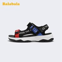巴拉巴拉童鞋儿童凉鞋男童大童鞋男童小童沙滩鞋2020新款夏季潮鞋