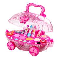 迪士尼公主彩妆盒儿童化妆品套装小女童口红无毒女孩玩具生日礼物