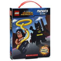 【中商原版】乐高英雄系列2英文原版Lego DC SuperHeroes PhonicsSet2学乐