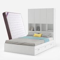 床高箱储物床抽屉单双人床小户型现代简约床无床头床