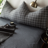 君别床头靠垫软包无床头榻榻米儿童ins床上长靠枕床头板软包双人卧室榻榻米网红靠垫抱枕大靠背 1.8米床适用-【棉套子+
