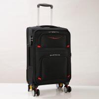 拉杆箱软箱24寸学生行李箱密码箱牛津布箱包旅行箱男28寸皮箱包26