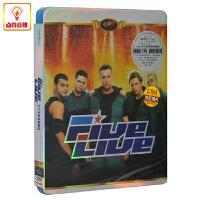 正版音乐 碟片 Five 《天下无敌现场 LIVE》正品DVD光盘 MTV