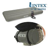 INTEX充气床69710 TPU带泵单人略小气垫床午休床