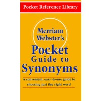 英文原版 韦氏词典 Merriam-Webster's Pocket Guide to Synonyms