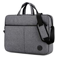 联想苹果笔记本电脑包14寸15.6寸商务大容量单肩手提男女士公文包