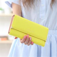 ?2018年夏新款韩版钱包女长款薄款卡包时尚女士学生小钱包?