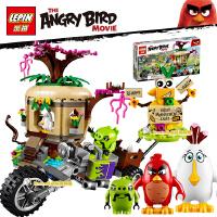 愤怒的小鸟 百鸟岛鸟蛋劫案拼装积木人仔 儿童益智玩具