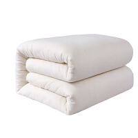 君别定做婴儿棉花被新疆棉絮被芯宝宝被褥儿童幼儿园午睡四季被子 网纱款加密 1.5斤