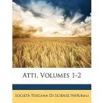 【预订】Atti, Volumes 1-2 9781148634890