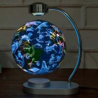发光自转磁悬浮地球仪台灯书房 教学摆件学生创意礼品礼物