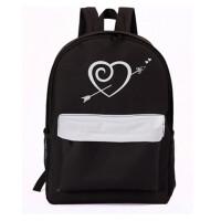 学院风韩版潮帆布包包女大中学生书包双肩包女男背包大容量电脑包