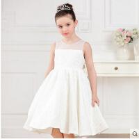 女孩生日婚纱晚礼服蕾丝蓬蓬裙 儿童礼服公主裙花童礼服
