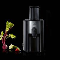 Braun/博朗 J500 家用电动水果榨汁机 出汁率 高转速调节功能,75毫米进料口