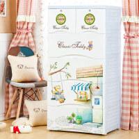 加大加厚宝宝衣柜抽屉式收纳柜储物柜整理柜抽屉塑料婴儿柜子