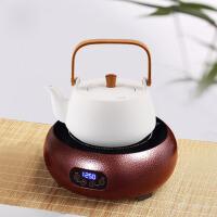 5P5 电陶炉茶炉家用迷你电磁炉大功率煮茶电炉智能光波茶炉铁壶