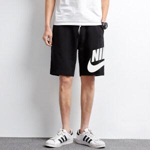 NIKE耐克2018年新款男子NSW SHORT FT GX FRANCHISE短裤836278-677