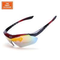 美国第一户外运动骑行眼镜偏光自行车山地车男女款防风沙眼镜