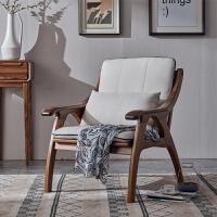 北欧乌金木沙发冬夏两用客厅 新中式全实木家具轻奢组合现代简约