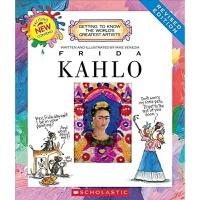【中商原版】学乐我需要知道的伟大艺术家系列 弗里达卡洛 英文原版Frida Kahlo 画家知识科谱