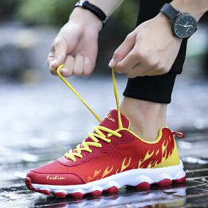 罗兰船长  网面透气休闲鞋运动跑步鞋