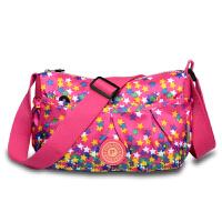 新款帆布包女包斜挎包新款简约韩版防水尼龙包中年旅行单肩斜跨小包包