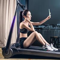 小乔酷动版跑步机家用款多功能超静音折叠迷你小型电动减肥健身器材