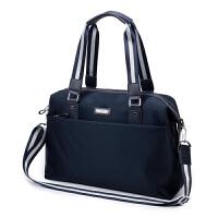 男士商务手提包 时尚津布包防水男包包 公文包挎包电脑包单肩包
