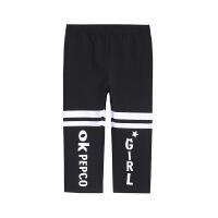 【2件5.5折价:32】小猪班纳童装2019夏款女童针织裤