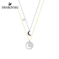 SWAROVSKI/施华洛世奇 Crystal Wishes 时尚项链套装 黑色5272242