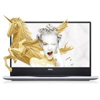 戴尔(DELL) 灵越燃7000 7472-1725 14英寸八代四核轻薄三边微边框手提笔记本电脑 金色 银色 粉色