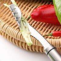 304不锈钢切辣椒去芯器番茄西红柿取芯器家用虎皮青椒去籽器工具