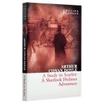 【中商原版】柯林斯经典文学:血字的研究 英文原版 Collins Classics: A Study In Scarl