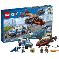 【当当自营】乐高LEGO 城市组CITY系列 60209 空中特警钻石大劫案