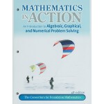 【预订】Mathematics in Action: An Introduction to Algebraic, Gr