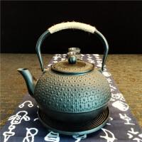 铸铁茶壶纯手工无涂层酒店用品公司年会礼品铁壶套装铸铁泡茶烧水壶煮茶器电陶炉茶炉功夫茶具套