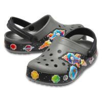 Crocs卡骆驰趣味学院银河小克骆格防滑沙滩洞洞男童凉鞋 205951