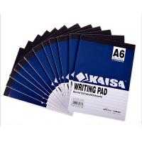 凯萨(KAISA) A6拍纸本60页(单本装)70g纸(148*105mm)横线本 美式笔记本 学生本 办公记事本日记