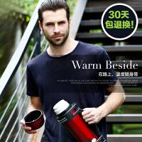 保温杯男大容量保温壶不锈钢家用旅行热水瓶户外旅游水壶2L