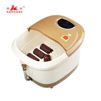 康豪 KH-8661足浴盆洗脚盆自助按摩加热泡脚桶电动加热恒温足浴器 排水管